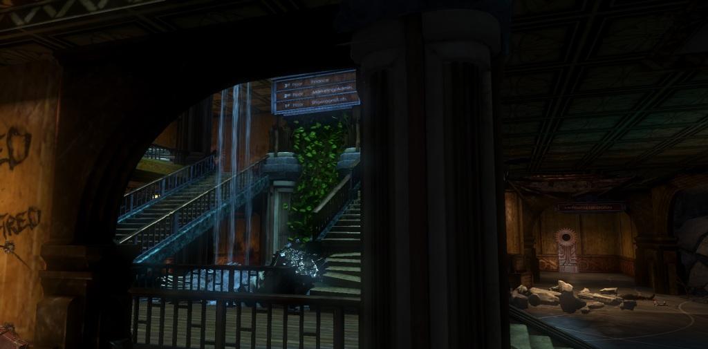 fontaine futuristics stairs